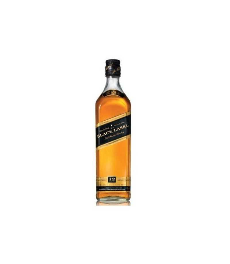 Johnnie Walker Black Label Blended Scotch Whisky - Aged 12 Years (1.75L)